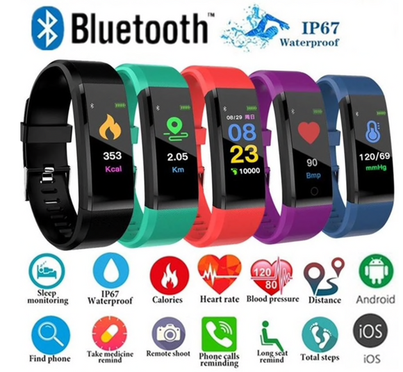 ID 115 Smart Watch