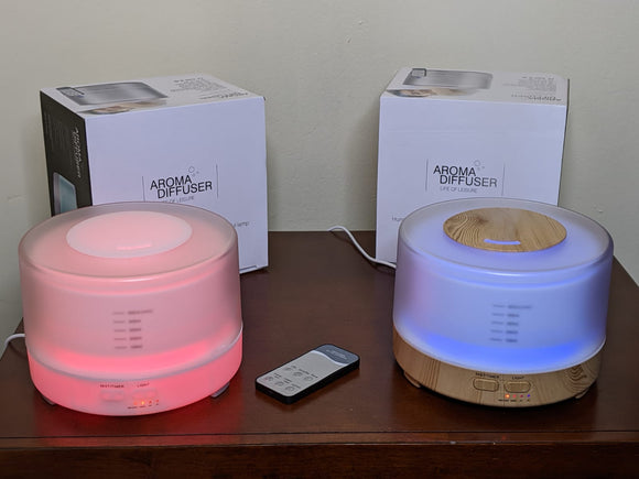 Ultrasonic Air Aroma Diffuser with Remote Wireless Speaker