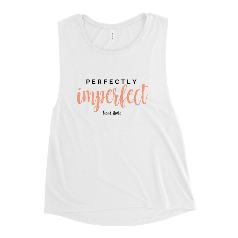 Perfectly imperfect.  Just as you are.