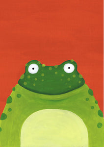 Fred the Frog Card