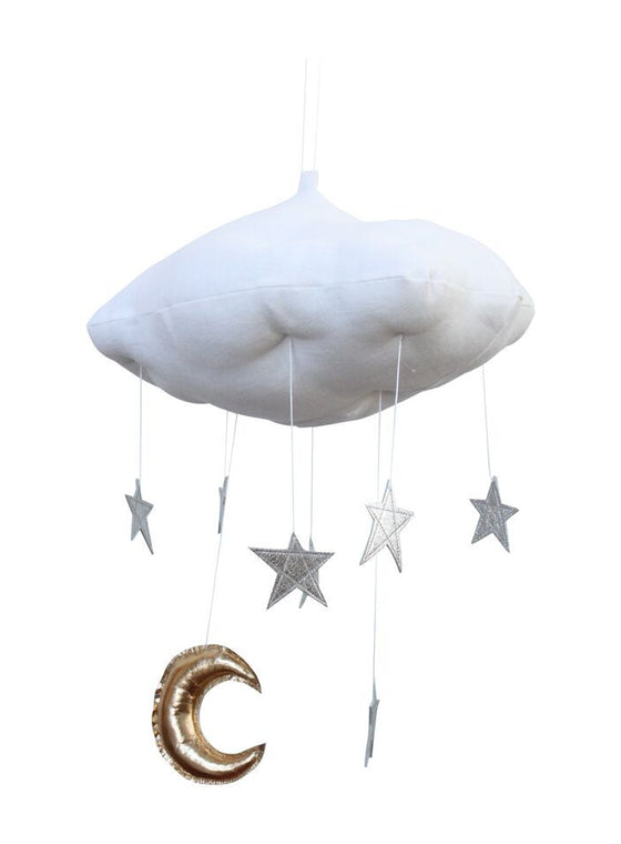 Luxe Silver Star Cloud Mobile