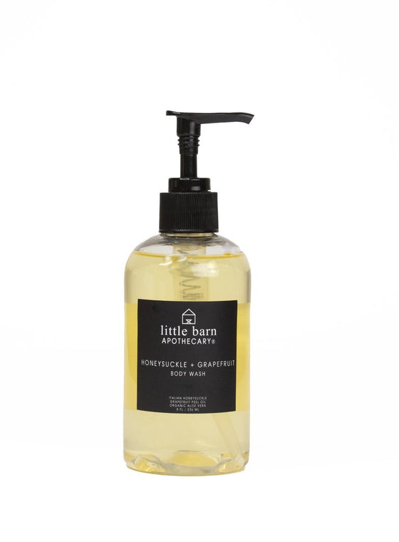 Honeysuckle and Grapefruit Body Wash
