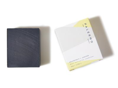 Grapefruit & Juniper with Activated Charcoal Soap