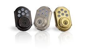 Kwikset SmartCode 910 Push Button Deadbolt Lock