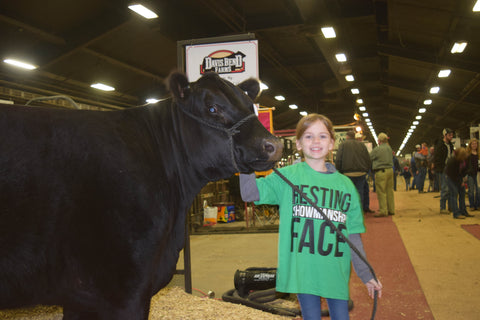 Resting Showmanship Face