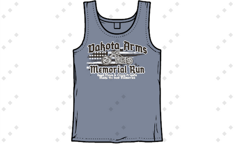 LADIES TANK TOP! Dakota Arms Memorial 2020 PREORDER