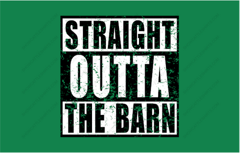 STRAIGHT OUT OF THE BARN