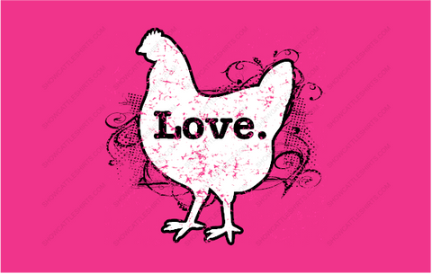 Swirly Love-Chicken