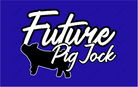 Infant Raglan Sleeve One-Piece Future Pig Jock