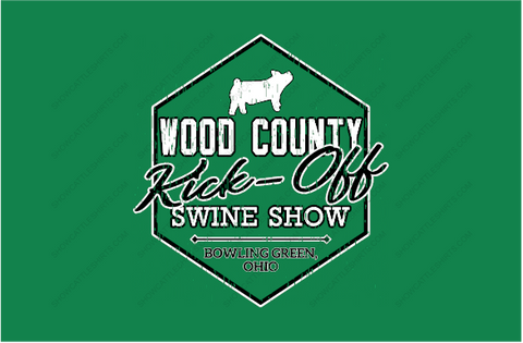 WOOD COUNTY KICK OFF OH PIGS SHOW SHIRT