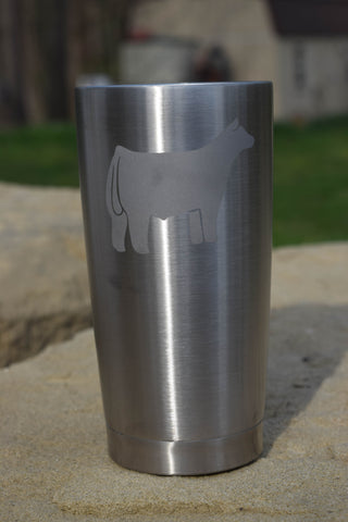 20 oz. TUMBLER WITH YOUR CHOICE OF ANIMAL
