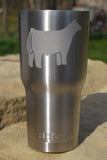 30 oz. TUMBLER WITH YOUR CHOICE OF ANIMAL