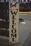 WELCOME SIGN SHORTHORN