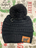 KIDS POM BEANIE [YOUR CHOICE OF ANIMAL]