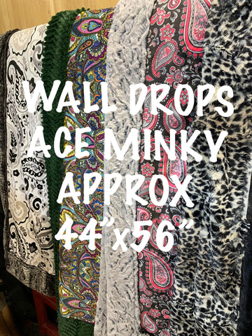 ACE MINKY WALL DROPS