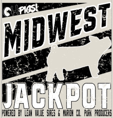 MIDWEST JACKPOT OH PIGS SHOW SHIRT