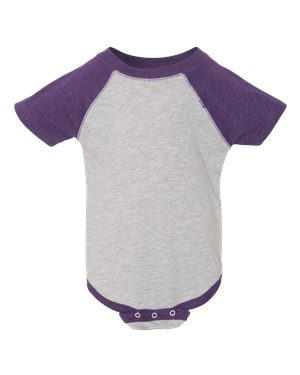 Infant Raglan Sleeve One-Piece CRAWL, WALK, SHOW