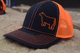 Black/Neon Orange Species Cap