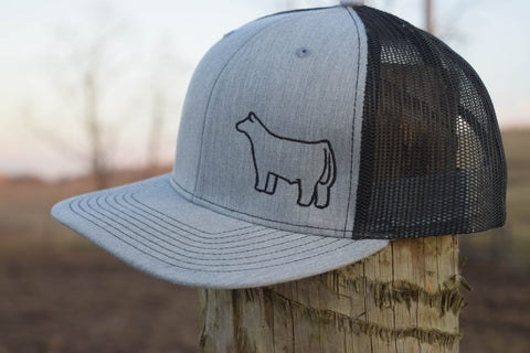 Heather Grey/Black Species Cap