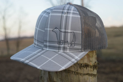 Grey Plaid Species Cap