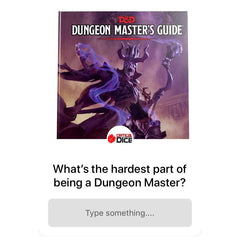 Dungeon Master Questions