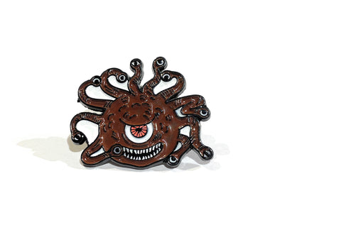 Carl- Beholder Pin - Critical Dice