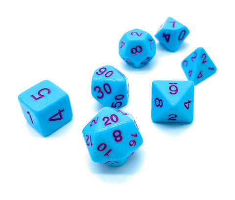 Spring's Bounty- Pastel Dice Set