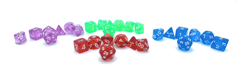 Adventurer's Pack- True Roll Dice & Bag of Invulnerability - Critical Dice