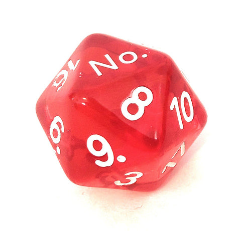 "Critical Dice Set- ""No"" on the ""1"" - Critical Dice"