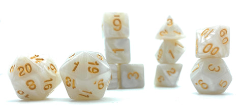 Good Tidings- Pearlescent Dice Set