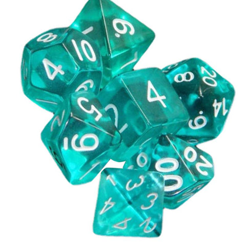 Foredawn Dice- Teal Dice Set