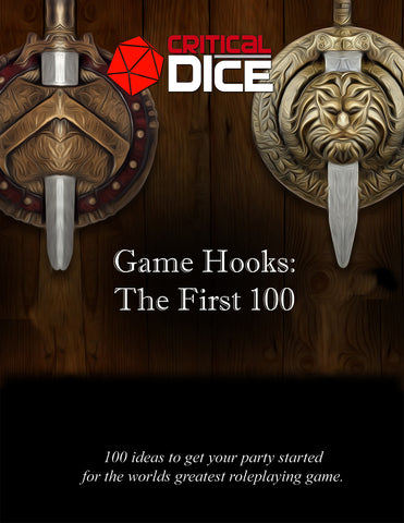 Game Hooks: The First 100