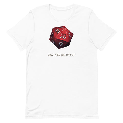 """This Is Not A Crit"" T-shirt - Critical Dice"