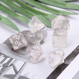 Dice of Etherealness- Set of 7 Clear Dice