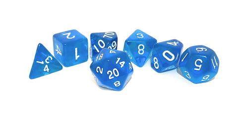 dnd Dice Set True Roll Blue