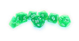 dnd Dice Set True Roll Green