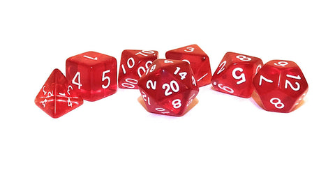 dnd Dice Set True Roll Red