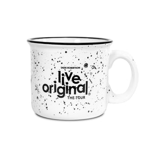 Live Original Ceramic Tour Mug