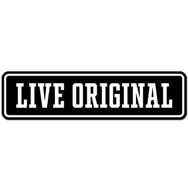 Live Original Patch