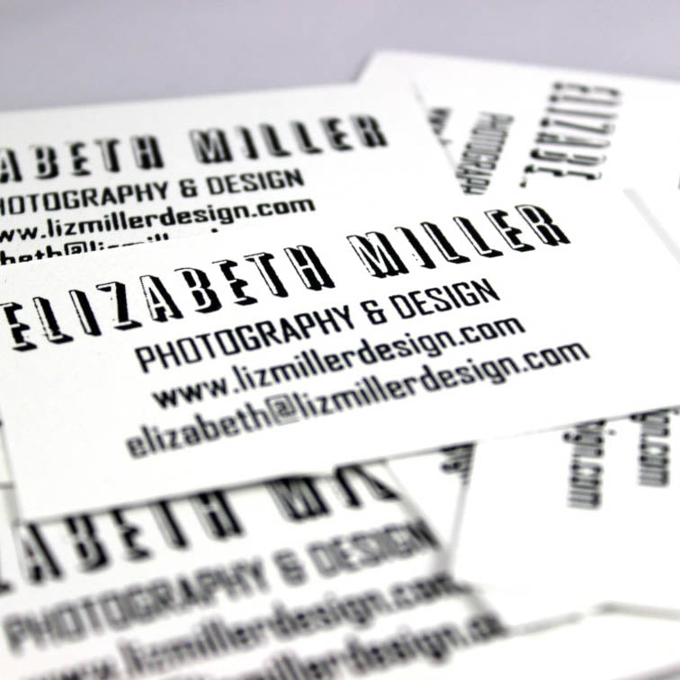 The Personal Touch – DIY Business Card Stamps
