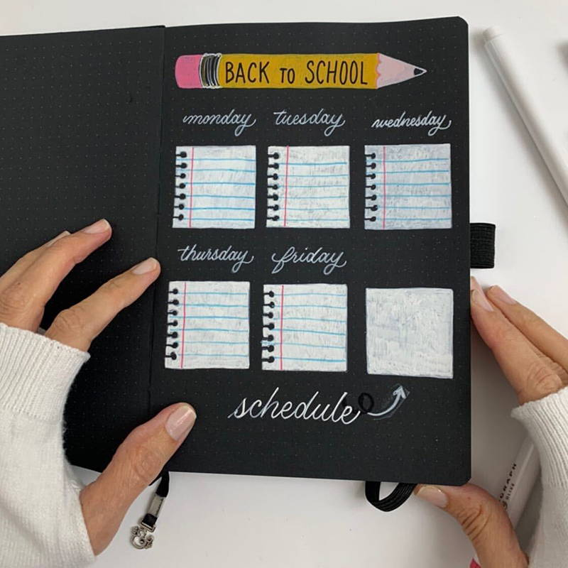 Back-To-School Bujo Layout With Missy Briggs