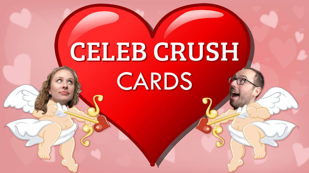 Celebrity Crush Valentine's Day Cards + Giveaway!