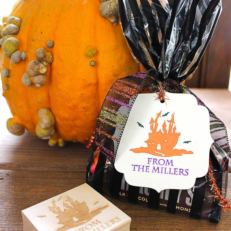 Customized Halloween Candy Favors