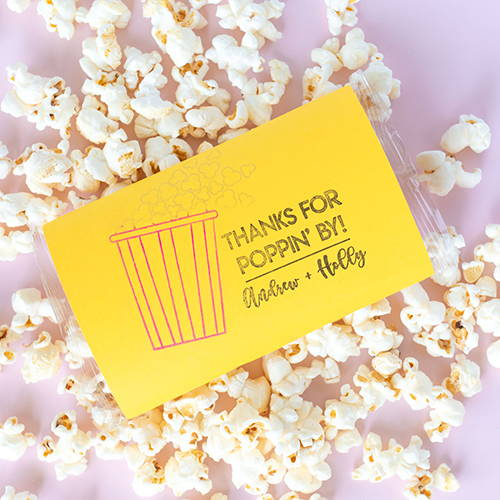 DIY Popcorn Favors for Weddings and Parties