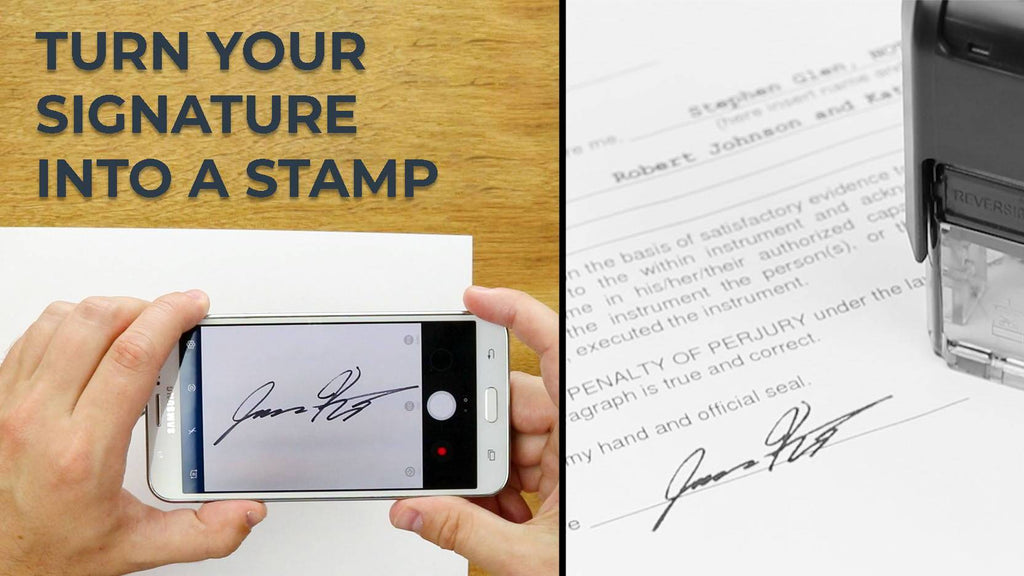 How To Make A Signature Stamp