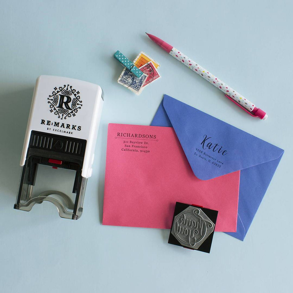 Giveaway: Choose Our Next Address Stamp Design