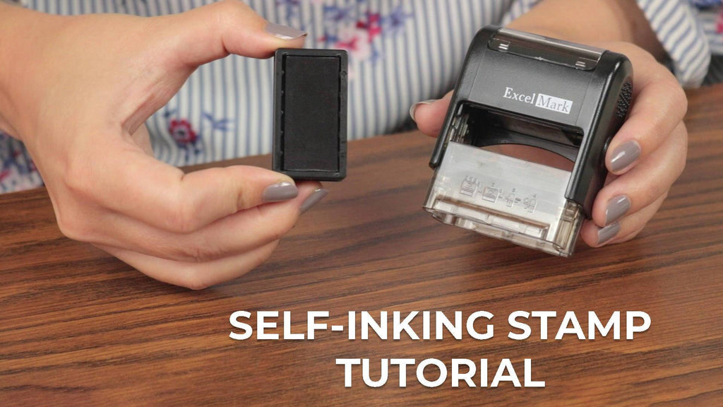 Self-Inking Stamp Tutorial