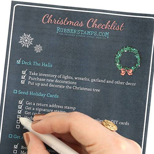 Christmas Checklist + Free Printable