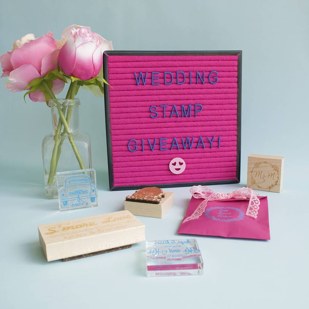 WIN: Wedding Stamp Giveaway!