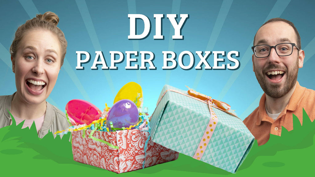 DIY Paper Gift Boxes